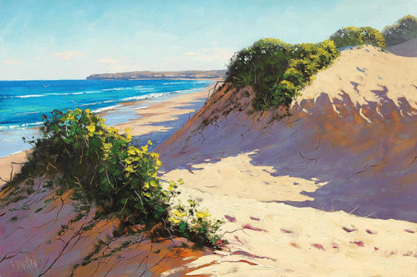 Dunes Painting - Dunes Central Coast by Graham Gercken