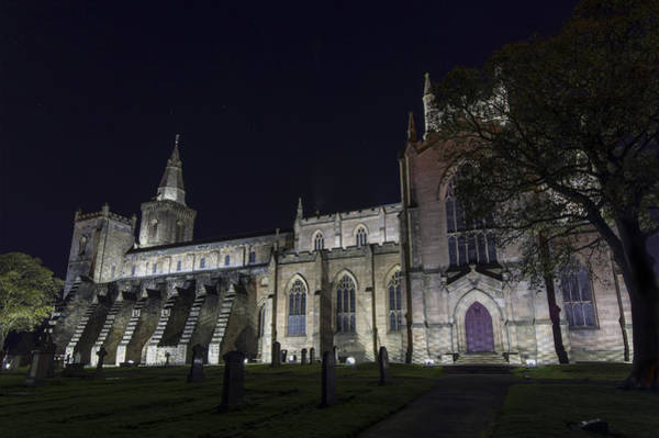 Photograph - Dunfermline Abbey By Night 5 Of 6 by Ross G Strachan