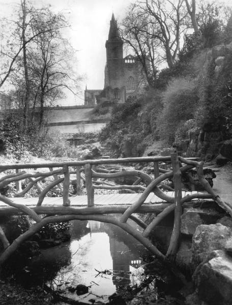 Elgin Photograph - Dunfermline Abbey by Underwood Archives