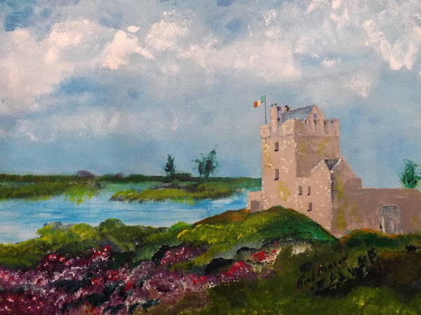 Wall Art - Painting - Dunguaire Castle by Rich Mason