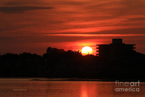 Photograph - Dunlawton Sunrise by Deborah Benoit