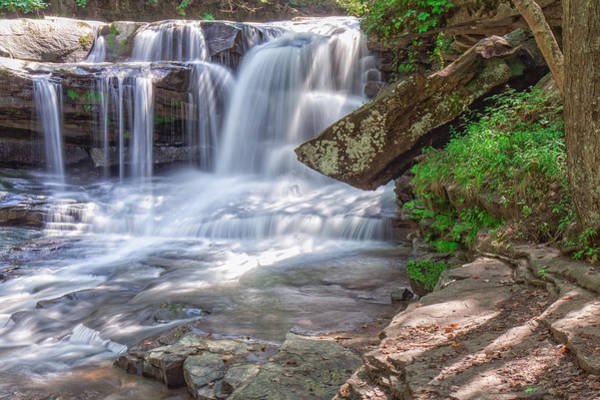 Photograph - Dunloup Creek Falls Of Thurmond by Mary Almond