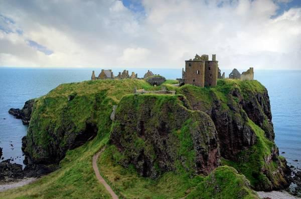 Headlands Photograph - Dunnottar Castle,scotland, Uk by Dragos Cosmin Photos