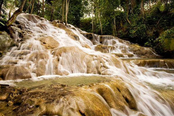 Photograph - Dunn's River Falls by Melinda Ledsome