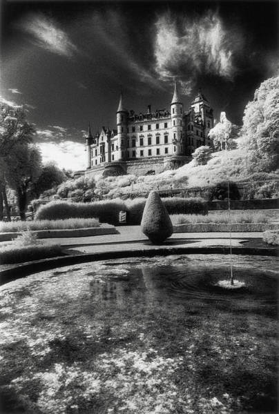 Charles Mansion Photograph - Dunrobin Castle, Golspie, Sutherland, Scotland by Simon Marsden