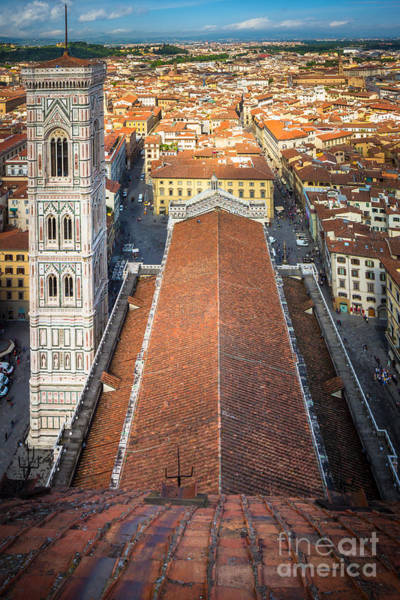Duomo Photograph - Duomo From Above by Inge Johnsson