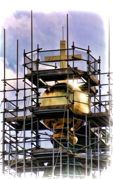 Duomo Di Firenze Wall Art - Photograph - Florence Duomo Under Repair by Henry Kowalski