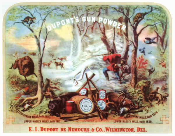 Wall Art - Painting - Dupont Ad, 19th Century by Granger