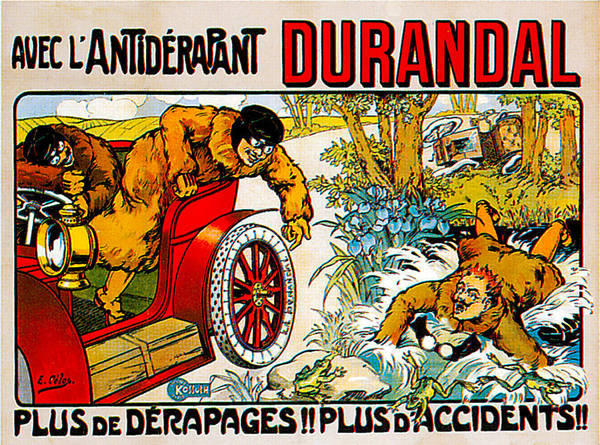 Photograph - Durandal by Vintage Automobile Ads and Posters