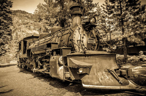 Photograph - Durango And Silverton #1 by TL  Mair