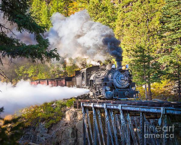 Photograph - Durango-silverton High Bridge by Inge Johnsson