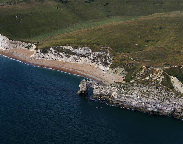 Wall Art - Photograph - Durdle Door Sea Arch by Skyscan/science Photo Library