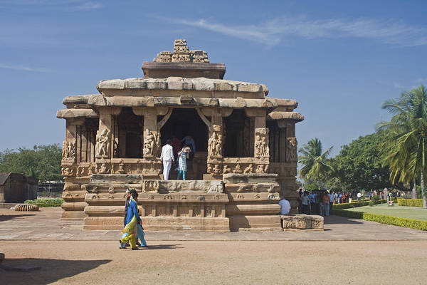 Photograph - Durga Temple by Maria Heyens