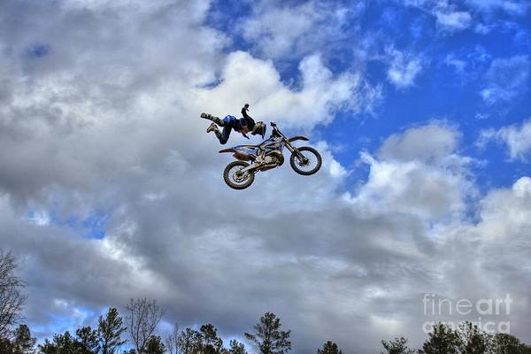 Four Wheeler Photograph - Durhamtown Plantation Ray Too High by Reid Callaway