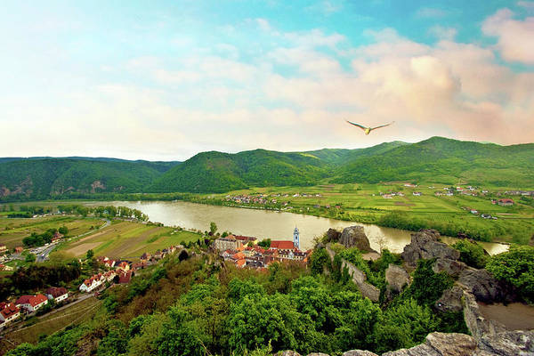 Donau Photograph - Durnstein, Austria, Wachau Valley by Miva Stock