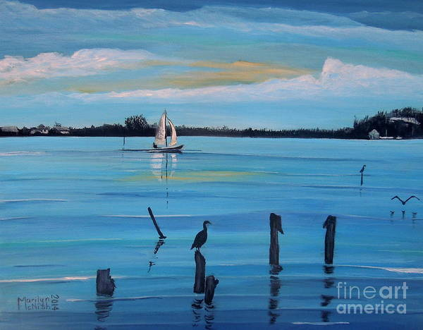 Painting - Dusk Approaching  by Marilyn  McNish