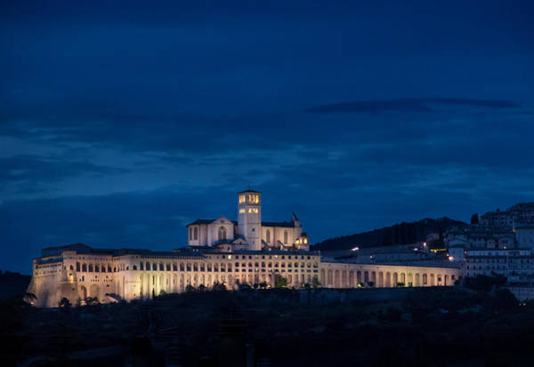 Photograph - Dusk At Basilica Of Saint Francis by Dwight Theall