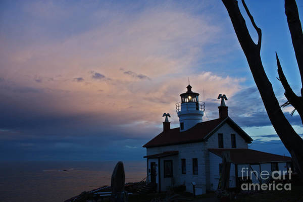 Low Battery Photograph - Dusk At Battery Point Twenty Seven by Donald Sewell