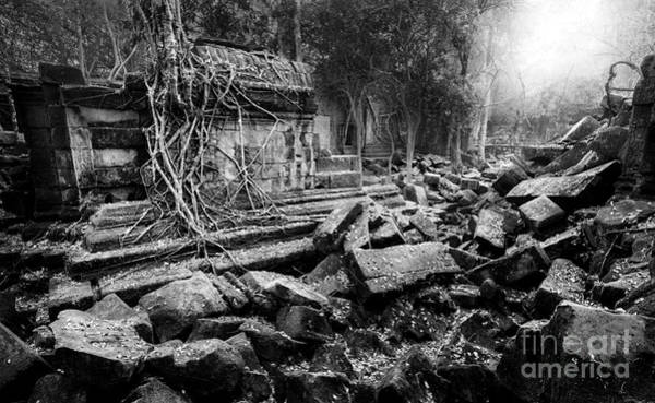 Photograph - Dusk At Beng Mealea by Julian Cook