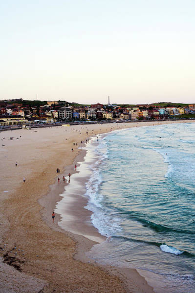 New South Wales Photograph - Dusk At Bondi Beach, From South Bondi by Oliver Strewe