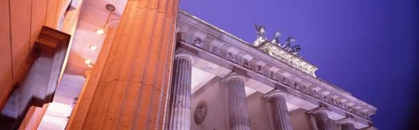 Brandenburg Gate Photograph - Dusk, Brandenburg Gate, Berlin, Germany by Panoramic Images