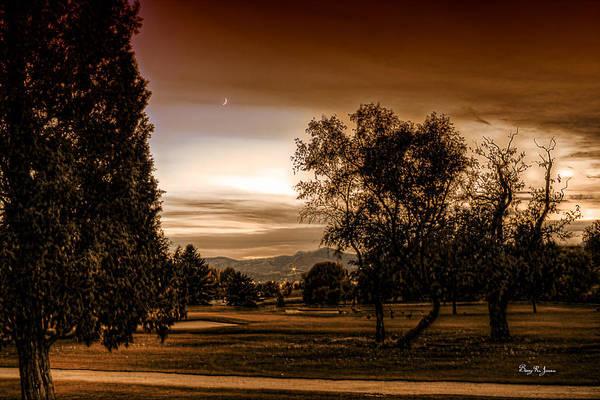 Photograph - Dusk In Denver by Barry Jones