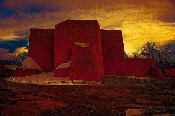 Photograph - Dusk In Ranchos by Charles Muhle