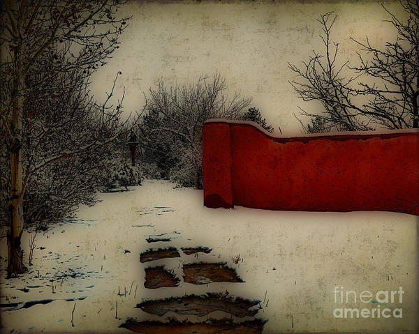 Mixed Media - Dusk In The Garden  by Charles Muhle
