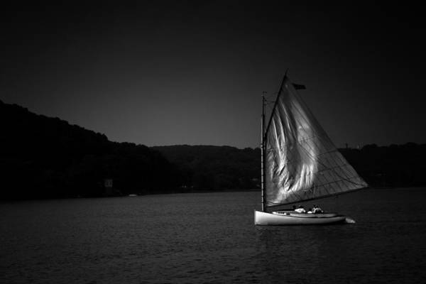 Photograph - Dusk On Mystic River by Ben Shields