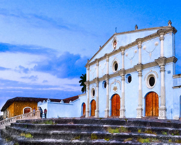 Wall Art - Photograph - Dusk On The Convento De San Francisco - Granada by Mark Tisdale