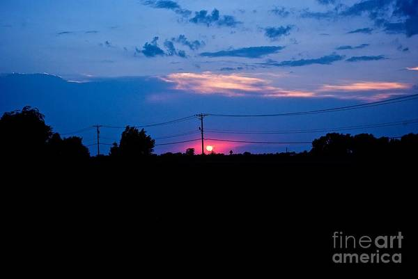 Photograph - Dusk On The Ranch by Frank J Casella