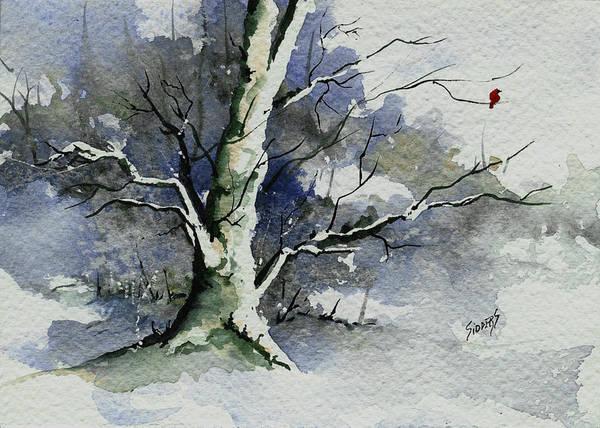 Painting - Dustie's Tree by Sam Sidders