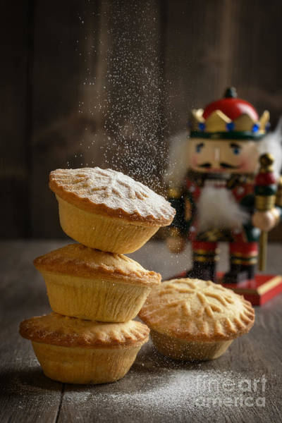 Icing Sugar Wall Art - Photograph - Dusting Mince Pies by Amanda Elwell