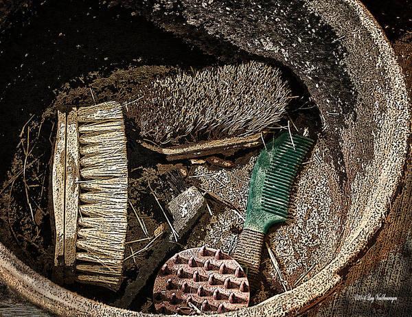 Photograph - Dusty Job by Lucy VanSwearingen