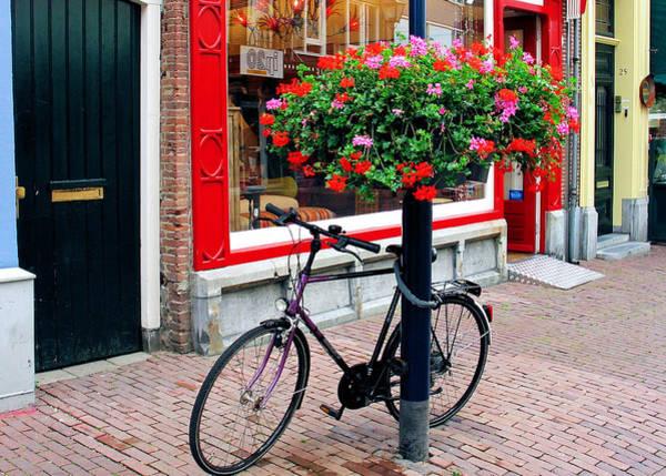 Photograph - Dutch Bike 1 by Gerry Bates