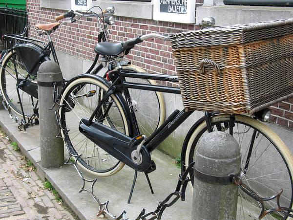 Photograph - Dutch Bikes by Gerry Bates
