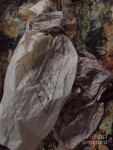 Paper Dress Mixed Media - Dutch Damsel by Nancy Kane Chapman