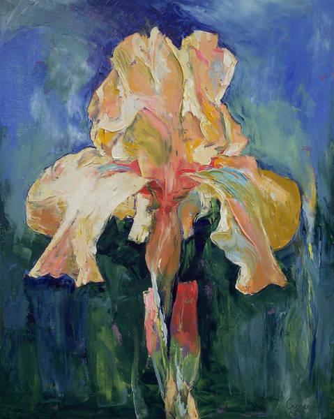 Fleurs Wall Art - Painting - Dutch Iris by Michael Creese