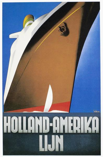 Photograph - Dutch Travel Poster, 1932 by Granger