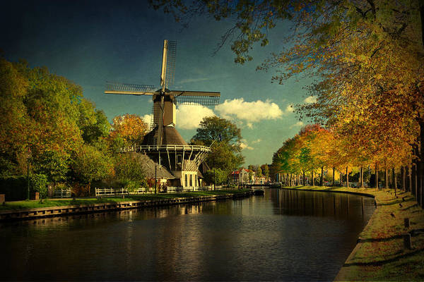 Photograph - Dutch Windmill by Annie Snel