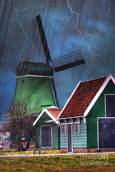 Photograph - Dutch Windmill by Juli Scalzi