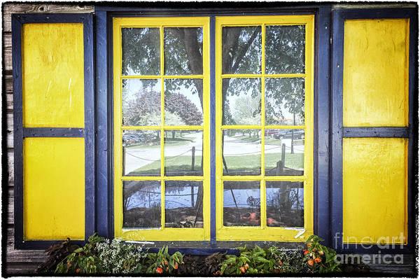 Holland Mi Digital Art - Dutch Window In Dutch Village Holland Mi by Georgianne Giese