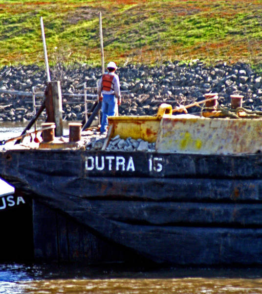 Photograph - Dutra On The Delta by Joseph Coulombe