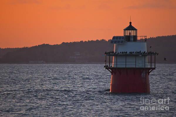 Photograph - Duxbury Pier Lighthouse by Amazing Jules