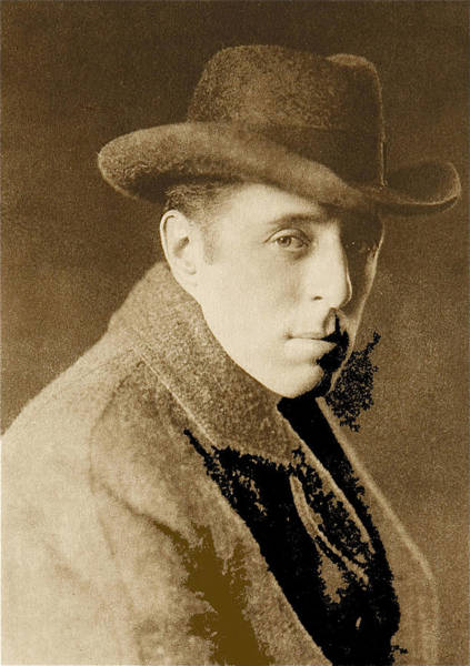 D W Griffith Photograph - D.w. Griffith C.1920-2008 by David Lee Guss