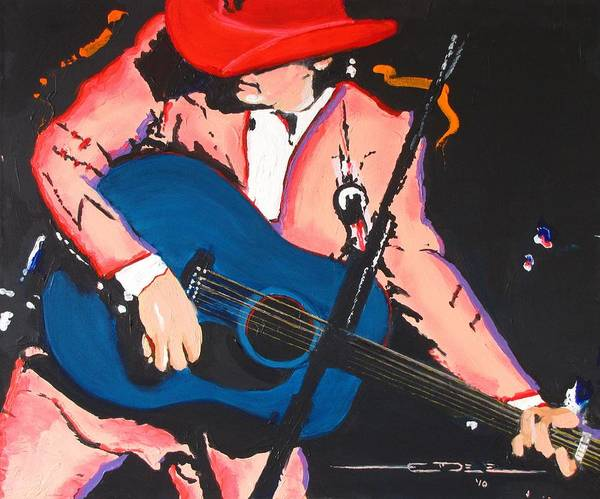 Dwight Yoakam Art Print