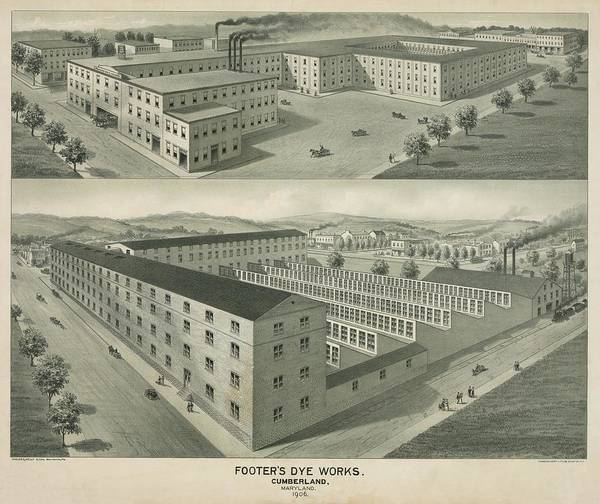 Wall Art - Photograph - Dye And Cleaning Factory by Library Of Congress/science Photo Library