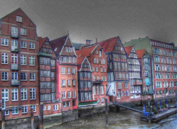Painting - Dyke Road Hamburg Ger4183 by Dean Wittle