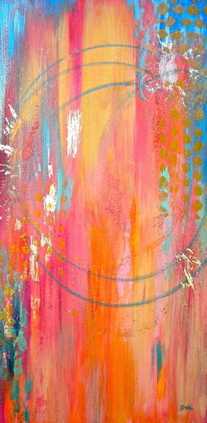 Wall Art - Painting - Dynamic Connection by Debi Starr