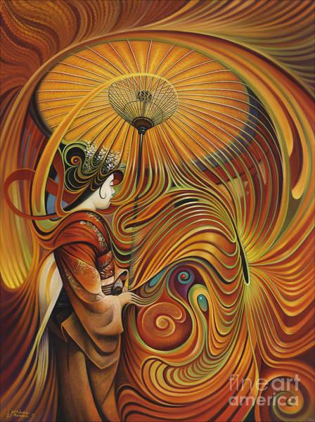 Painting - Dynamic Oriental by Ricardo Chavez-Mendez